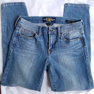 Lucky Brand Jeans Sofia Capri Size 6 / 28 Denim
